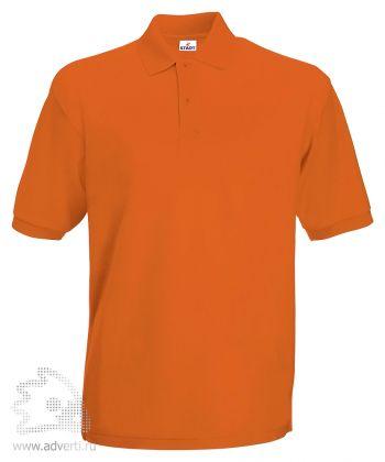 Рубашка поло «Apollo», мужская, оранжевая
