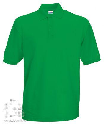 Рубашка поло «Apollo», мужская, зеленая