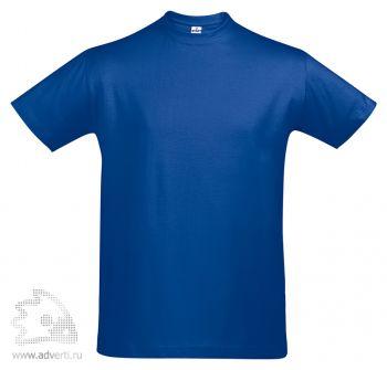 Футболка «First», мужская, синяя