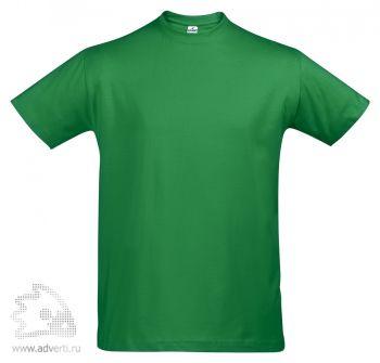 Футболка «First», мужская, зеленая