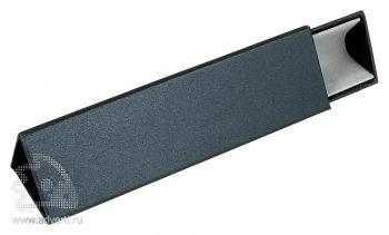 Треугольный футляр для одной ручки, серый
