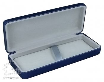 Однотонный футляр для 1 или 2 предметов, синий