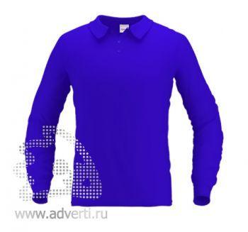 Рубашка поло «Stan Polo», мужская, синяя