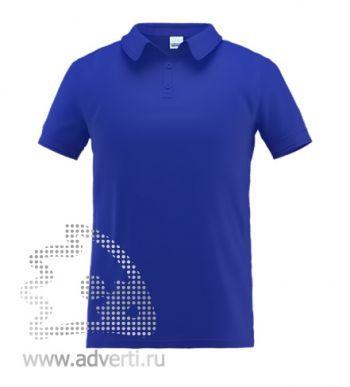 Рубашка поло «Stan Premium», мужская, синяя