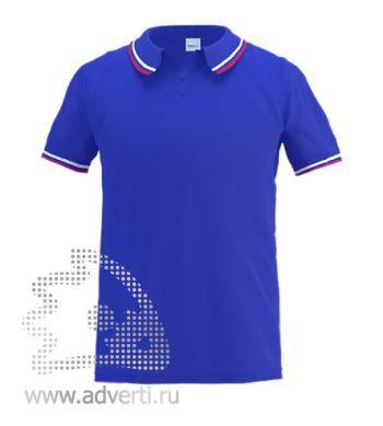 Рубашка поло «Stan Russian», мужская, синяя