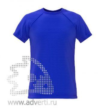 Футболка под сублимацию «Stan Print», мужская, синяя