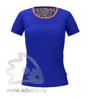 Футболка «Ekaterina City W», женская, синяя