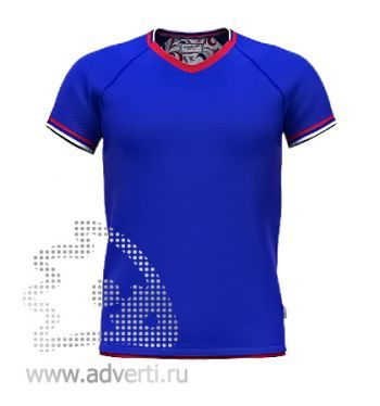 Футболка «Moscow Style», мужская, синяя
