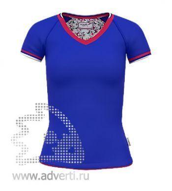 Футболка «Moscow Style W», женская, синяя