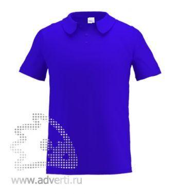 Рубашка поло «Stan Primier», мужская, синяя