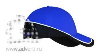 Бейсболка «Stan TwoColors», синяя
