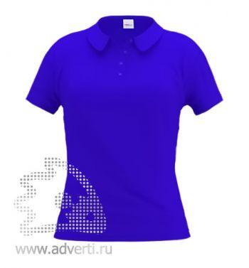 Рубашка поло «Stan Women», женская, синяя