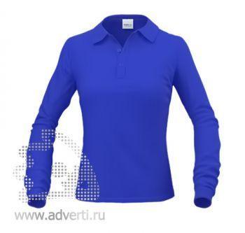 Рубашка поло «Stan Polo W», женская, синяя