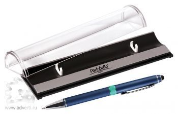 Набор «Ocean», синий: шариковая ручка в футляре