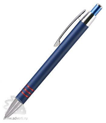 Шариковая ручка «Avenue», синяя с красным