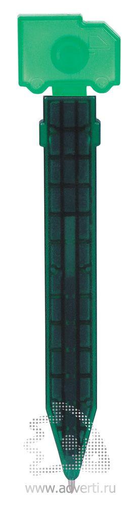 Промо-ручка на магните «Грузовик», зеленая