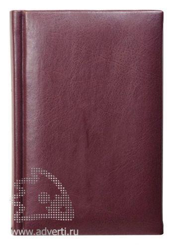 Ежедневники «Sevilia», темно-бордовые, недатированные