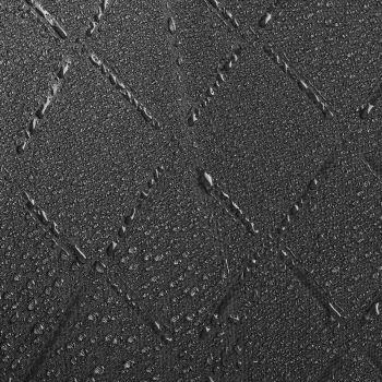 Зонт-трость «Magic», с проявляющимся рисунком в клетку, черный, пример рисунка