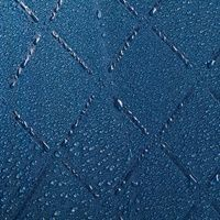 Зонт-трость «Magic», с проявляющимся рисунком в клетку, темно-синий, пример рисунка