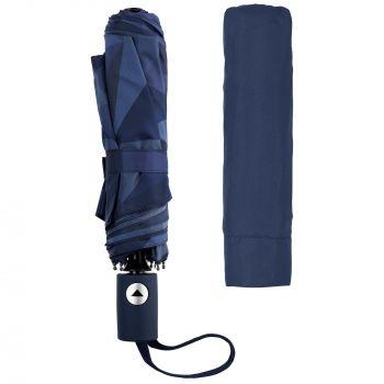 Складной зонт «Gems», сложенный, с чехлом