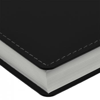 Ежедневник Tact, А5, черный, обрез