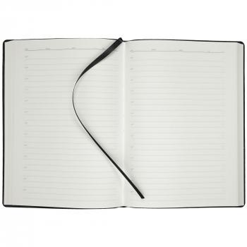 Ежедневник Tact, А5, черный, открытый