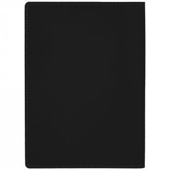 Ежедневник Tact, А5, черный, обратная сторона