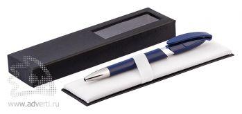 Футляр с окошком для ручки, пример с ручкой, в разобранном виде