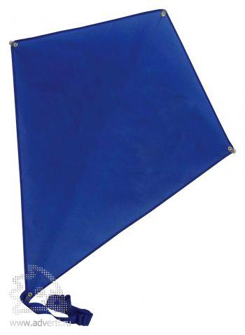 Воздушный змей «Ромб», синий