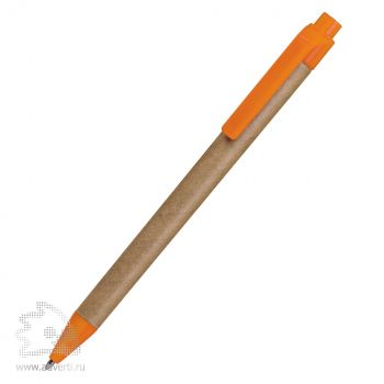 Шариковая ручка «Green Touch», оранжевая