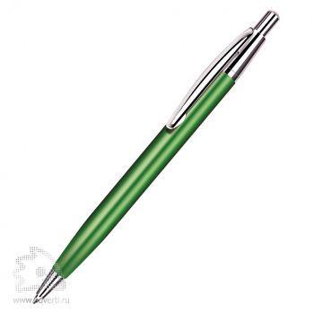 Шариковая ручка «Epsilon» BeOne, зелено-серебристая