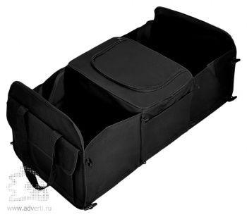 Сумка в багажник с термоотсеком 12 л. в разложенном виде