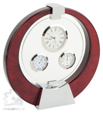 Погодная станция «Темпл»: часы, термометр, гигрометр