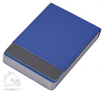 Визитница «Вертикаль», синий