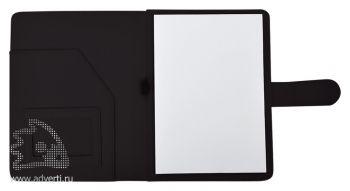 Папка А5 «Classic», черная (внутренний дизайн)