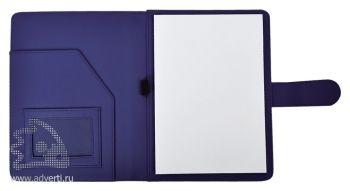 Папка А5 «Classic», фиолетовая (внутренний дизайн)