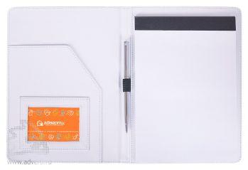 Папка А5 с блокнотом «Aluminium», внутренний дизайн