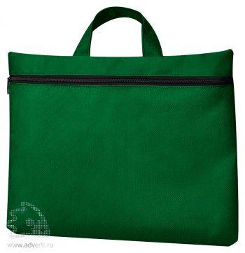 Сумка для документов «Paper», зеленая