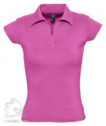 Рубашка поло без пуговиц «Pretty 220», женская, розовая