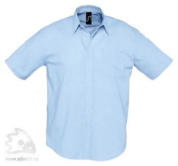 Рубашка «Brisbane 135», мужская, голубая