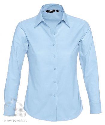 Рубашка «Embassy 135», женская, голубая