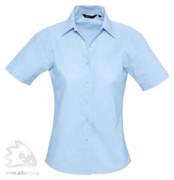 Рубашка «Eden 140», женская, голубая
