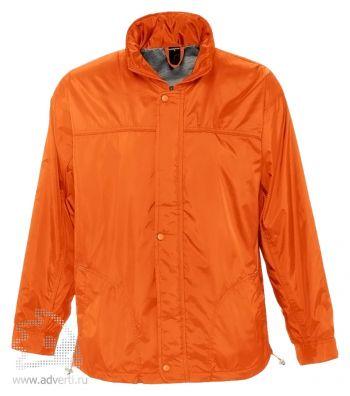 Ветровка «Mistral 210», мужская, оранжевая