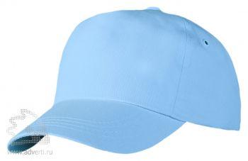 Бейсболка «Unit Promo», голубая