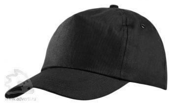 Бейсболка «Unit Promo», черная