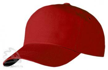 Бейсболка «Unit Promo», красная