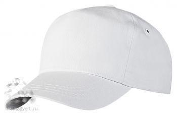 Бейсболка «Unit Promo», белая