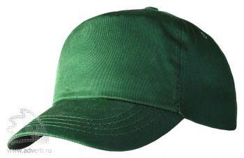 Бейсболка «Unit Promo», темно-зеленая