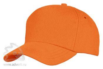 Бейсболка «Unit Standart», оранжевая