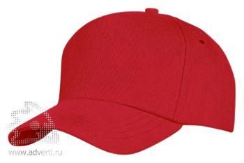 Бейсболка «Unit Standart», красная